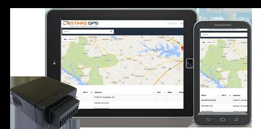 Stars GPS Software - Mobile