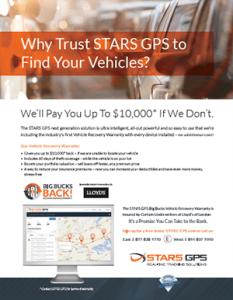 Car Recovery Warranty by STARS GPS