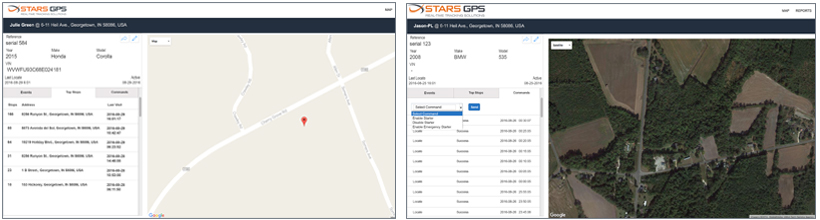 Smart GPS Technology Views - STARS GPS